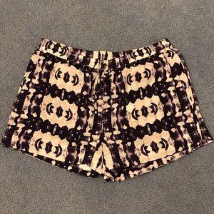 Cynthia Vincent silk shorts